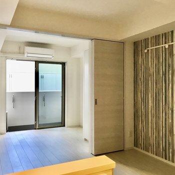新築のお部屋です。※写真は1階の同間取り別部屋のものです