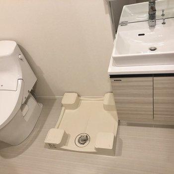 水回りが脱衣所に集まっているので、スムーズに掃除できます。