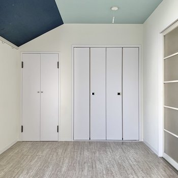 【洋室5.3帖】このお部屋のは収納が2つあります。