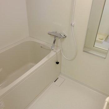 お風呂もきれいにリノベーションされてます