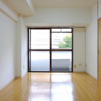 こちらはもう一つの洋室。こっちは寝室かな