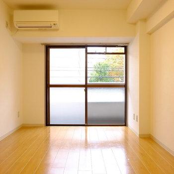 こちらが1つ目の洋室。リビングスペースにしても良いかも