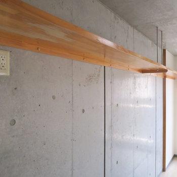 ここからグリーンを垂らしても良いですね◎ ※写真は3階同間取り・別部屋のものです。