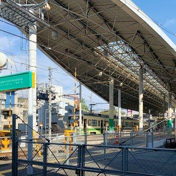 こちらは広電西広島駅。駅チカなのが嬉しいね。