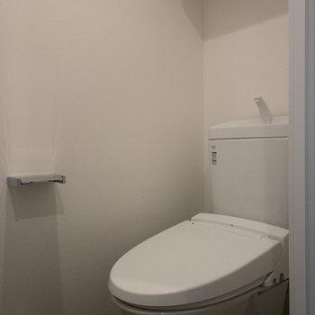 ぴかぴかのトイレです。