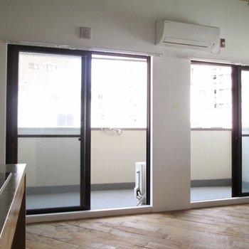 大きな窓で光も風も入りますよ〜※写真は前回募集時のものです