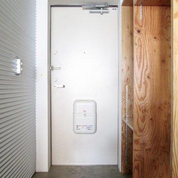 玄関はコンパクトめです。※写真は前回募集時のものです