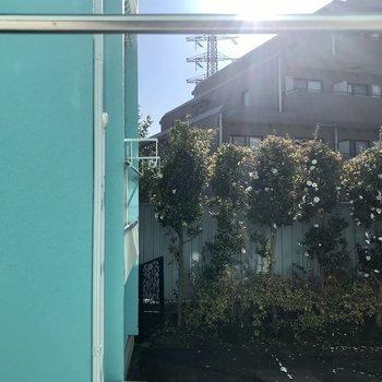 眺望は庭です。