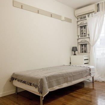 こちらのベッドももちろん備え付き。 ※写真は前回募集時のものです