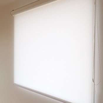 スクリーンで隠せます!※写真は同間取り別部屋のものです。
