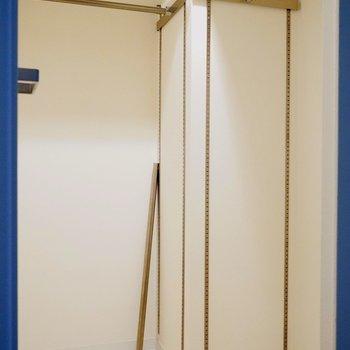 収納はウォークインクローゼット!※写真は類似間取り・別部屋のものです。