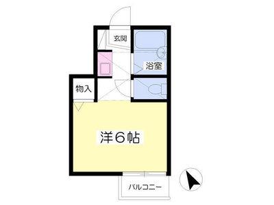 武蔵境9分アパート の間取り