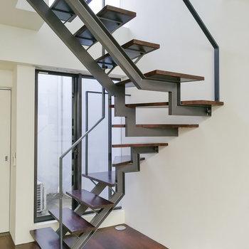 さて、上階へいきましょう。