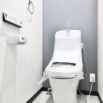 曲線がキレイなトイレ。