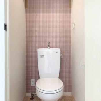 トイレもかわいい空間です。