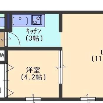 角部屋・最上階!!