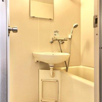 2点ユニットのお風呂はまとめ掃除でいつでもピカピカに◯