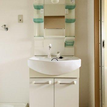 そして水回りスペース シンプルだけど、使いやすい洗面所