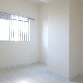 洋室は子ども部屋や、趣味、収納の部屋にピッタリな広さ。