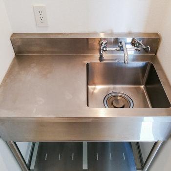 洗面台も配備されています。