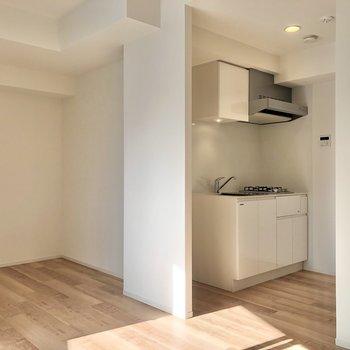 キッチンスペースと繋がっています。