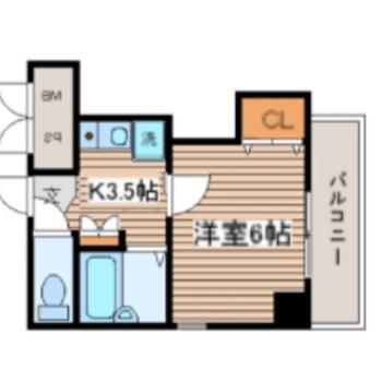 キッチンまわりがゆったりとしたお部屋ですよ。