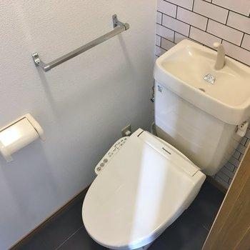 ちょっぴり可愛く仕上げたおトイレ