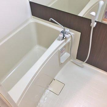 清潔感のあるバスルーム◎