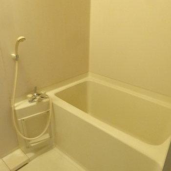浴室は至ってシンプル。