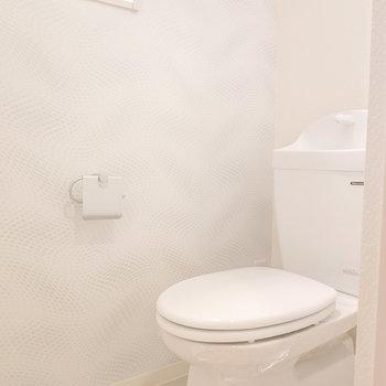 居心地の良いトイレ。ウォシュレットは後付けも可能!