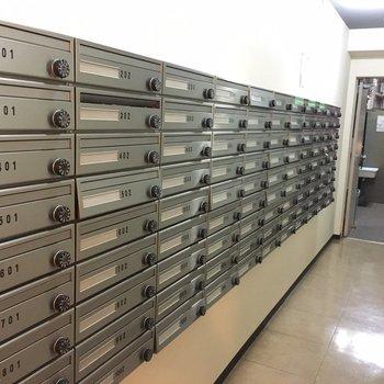 郵便受けです。