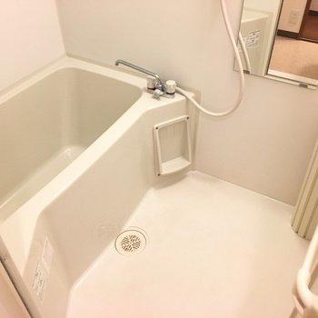 バスルームも清潔です。