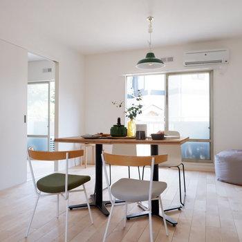 【イメージ写真】家具を置くとこんな感じ!シンプルにまとめられるととても良い感じですね