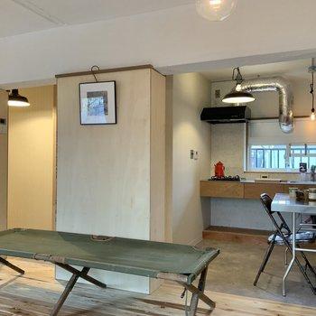 キッチンを見てみましょう。※写真は1階モデルルームのものです