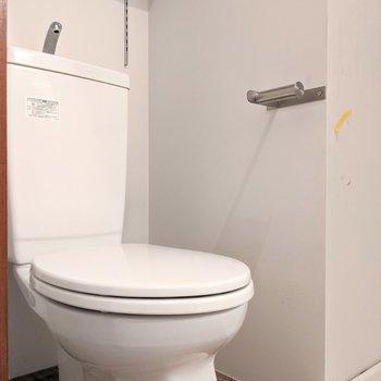 脱衣所とトイレは同室です