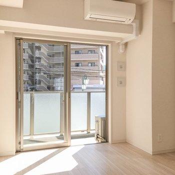 一人暮らしにちょうど良さそうなサイズ感です。※写真は2階の反転間取り別部屋のものです