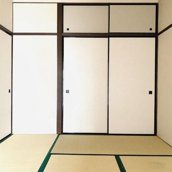 【LDK隣の和室】やはり畳なのでお布団で寝たい!(※お部屋は通電前です。)