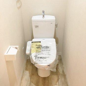 トイレも新品です◎