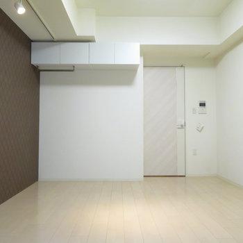 ちょうどいい広さ。コンパクトな家具を