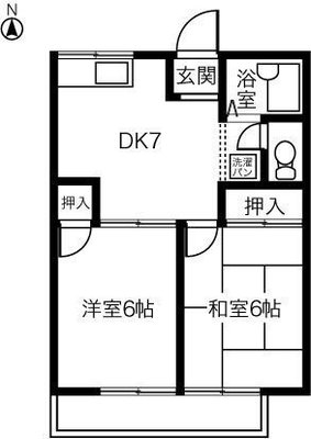COSMO HOUSE Aの間取り