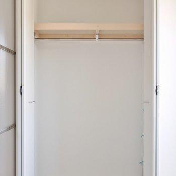 洋室の収納は、しっかり隠せます。※写真は別室のもの。