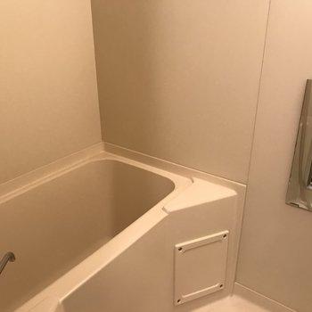 ゆったりできそうな浴槽。写ってませんがシャワーもありますよ◎