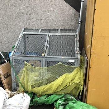 専用ゴミ置き場はこちら