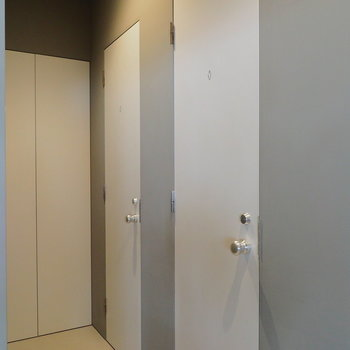 1階トイレは男女別!