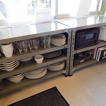 食器や家電も充実しております!