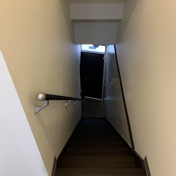 階段は焦らずに。