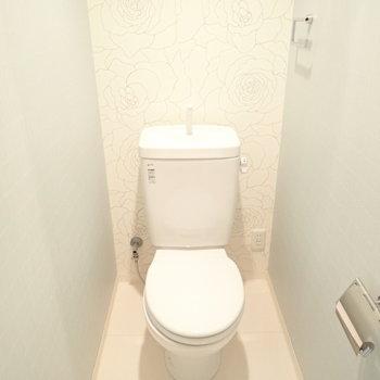 トイレ空間も素敵…