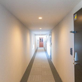 廊下が長い!