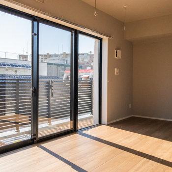 居室の日当たりがgood!※写真は5階の同間取り別部屋のものです