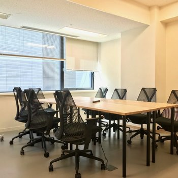 こちらは共用の会議室